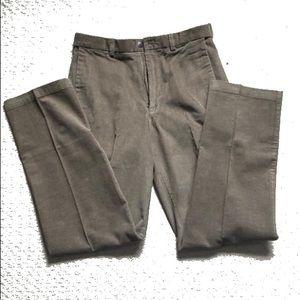 men's brown corduroy pants